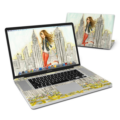 MacBook Pro 17in Skin - The Sights New York