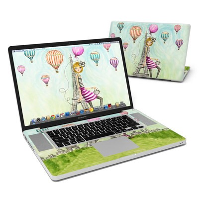 MacBook Pro 17in Skin - The Sights Paris