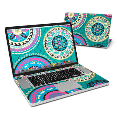 MacBook Pro 17in Skin - Silk Road