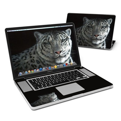 MacBook Pro 17in Skin - Silver Shadows
