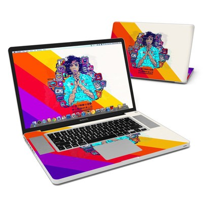 MacBook Pro 17in Skin - Singularity Glitch