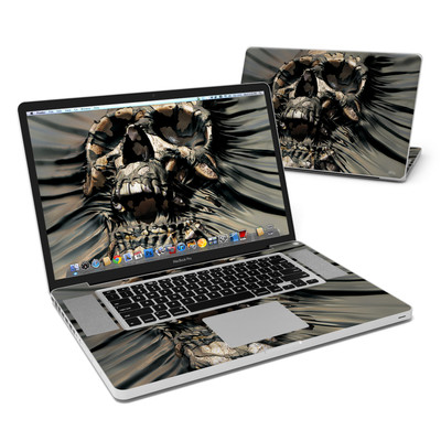MacBook Pro 17in Skin - Skull Wrap