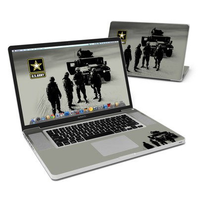 MacBook Pro 17in Skin - Soldiers All
