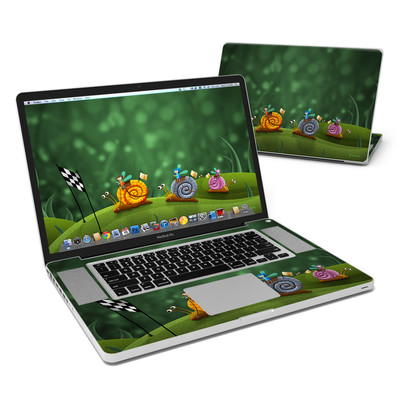 MacBook Pro 17in Skin - Snail Race