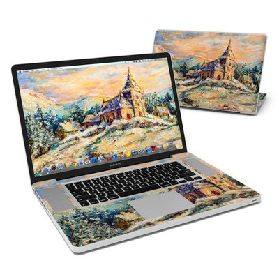 MacBook Pro 17in Skin - Snow Landscape