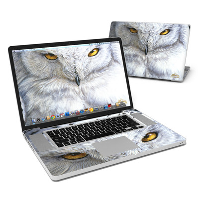 MacBook Pro 17in Skin - Snowy Owl