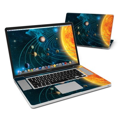 MacBook Pro 17in Skin - Solar System