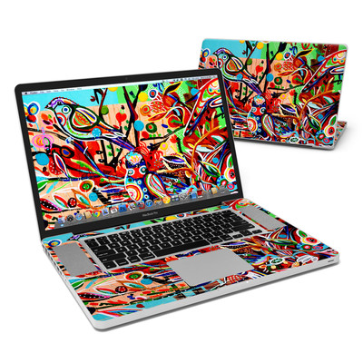 MacBook Pro 17in Skin - Spring Birds