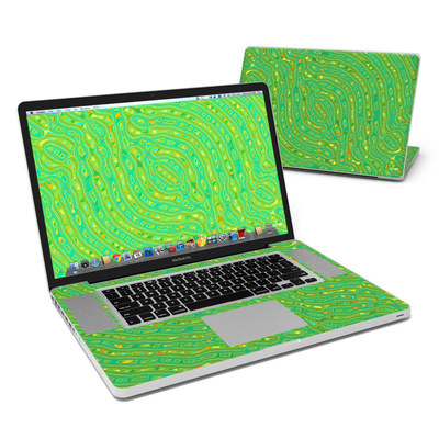 MacBook Pro 17in Skin - Speckle Contours