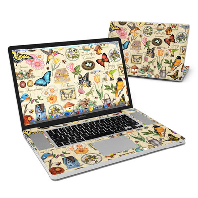 MacBook Pro 17in Skin - Spring All
