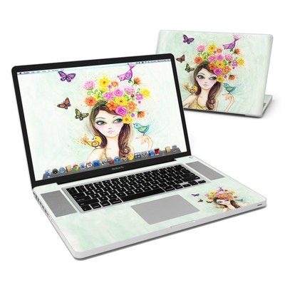 MacBook Pro 17in Skin - Spring Time