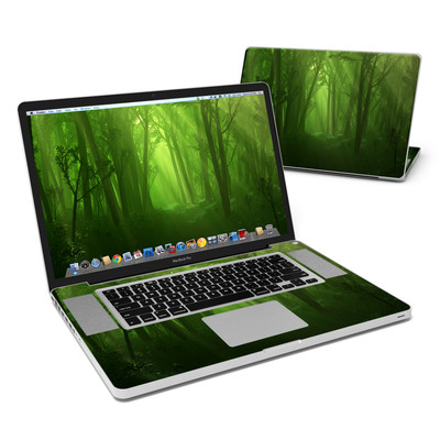MacBook Pro 17in Skin - Spring Wood