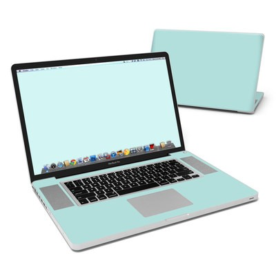 MacBook Pro 17in Skin - Solid State Mint