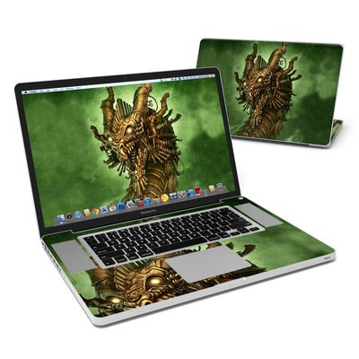 MacBook Pro 17in Skin - Steampunk Dragon