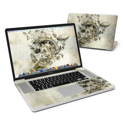 MacBook Pro 17in Skin - Steamtime