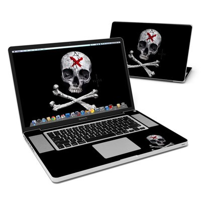 MacBook Pro 17in Skin - Stigmata Skull