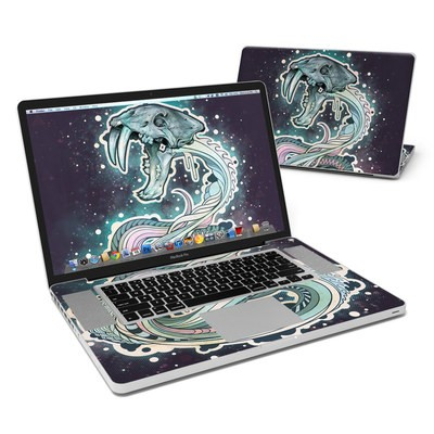 MacBook Pro 17in Skin - Saber-Toothed Serpent