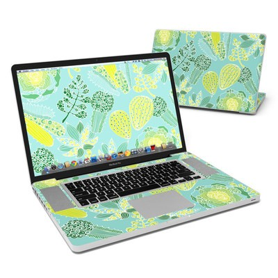 MacBook Pro 17in Skin - Succulents