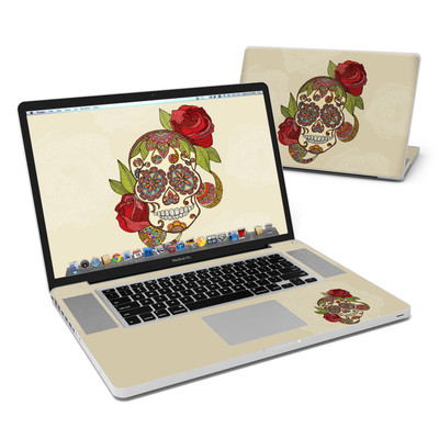 MacBook Pro 17in Skin - Sugar Skull