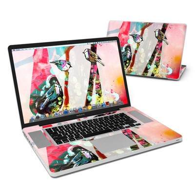 MacBook Pro 17in Skin - Summer Blush