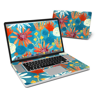 MacBook Pro 17in Skin - Sunbaked Blooms