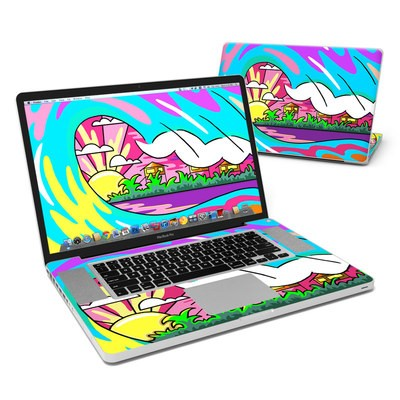 MacBook Pro 17in Skin - Sunset Break