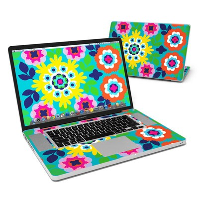 MacBook Pro 17in Skin - Susani Sun
