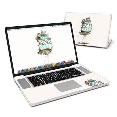 MacBook Pro 17in Skin - She Takes The Cake