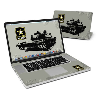 MacBook Pro 17in Skin - Tank Tuff