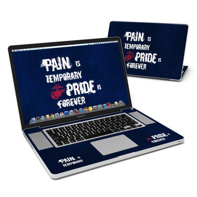 MacBook Pro 17in Skin - Pain is Temporary
