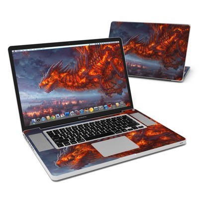 MacBook Pro 17in Skin - Terror of the Night