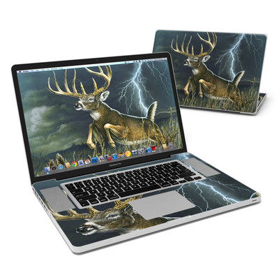 MacBook Pro 17in Skin - Thunder Buck