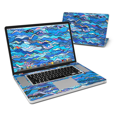 MacBook Pro 17in Skin - The Blues