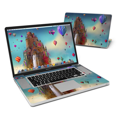 MacBook Pro 17in Skin - The Festival