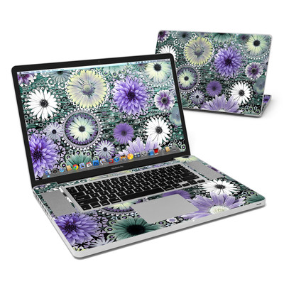 MacBook Pro 17in Skin - Tidal Bloom