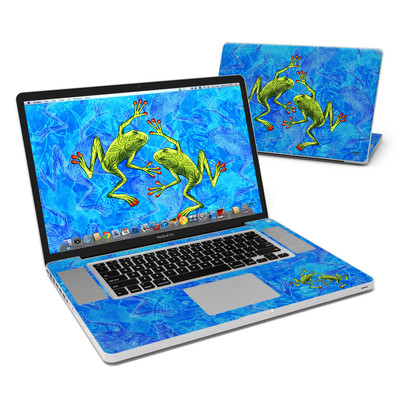 MacBook Pro 17in Skin - Tiger Frogs