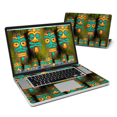 MacBook Pro 17in Skin - Tiki Abu