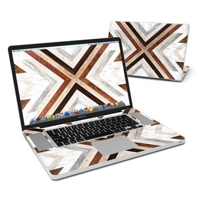 MacBook Pro 17in Skin - Timber