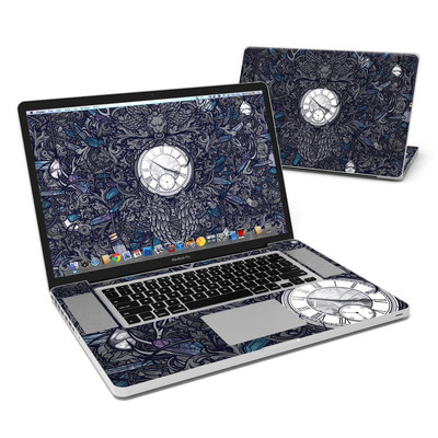 MacBook Pro 17in Skin - Time Travel
