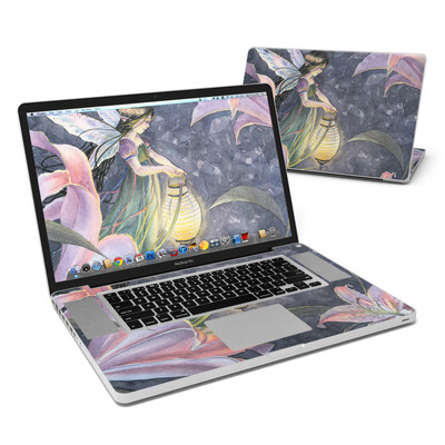 MacBook Pro 17in Skin - Twilight Lilies