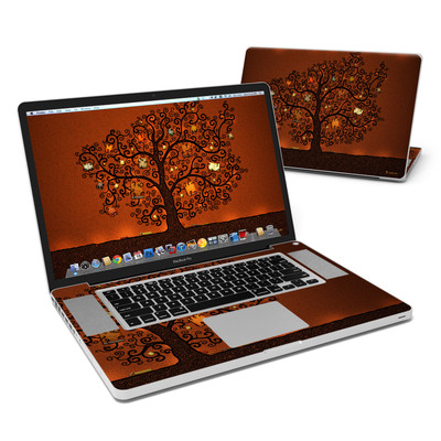 MacBook Pro 17in Skin - Tree Of Books