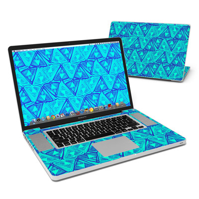 MacBook Pro 17in Skin - Tribal Beat