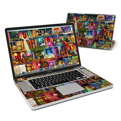 MacBook Pro 17in Skin - Treasure Hunt