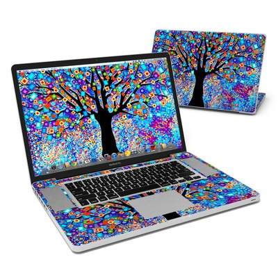 MacBook Pro 17in Skin - Tree Carnival