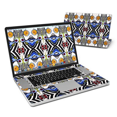 MacBook Pro 17in Skin - Tribal Sun
