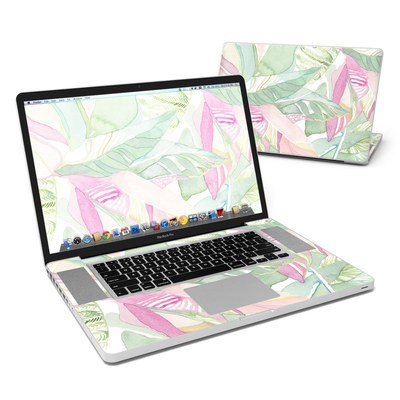 MacBook Pro 17in Skin - Tropical Leaves
