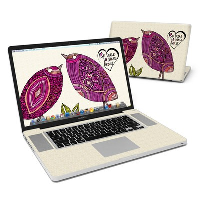 MacBook Pro 17in Skin - True Birds
