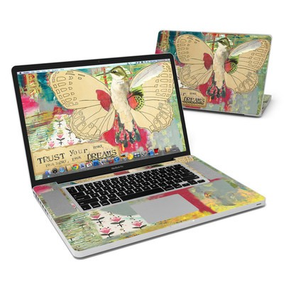 MacBook Pro 17in Skin - Trust Your Dreams