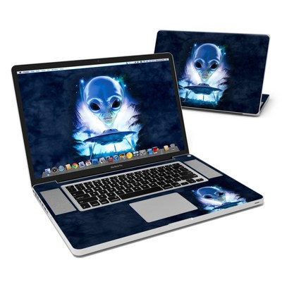 MacBook Pro 17in Skin - UFO