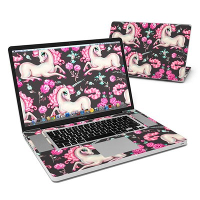 MacBook Pro 17in Skin - Unicorns and Roses